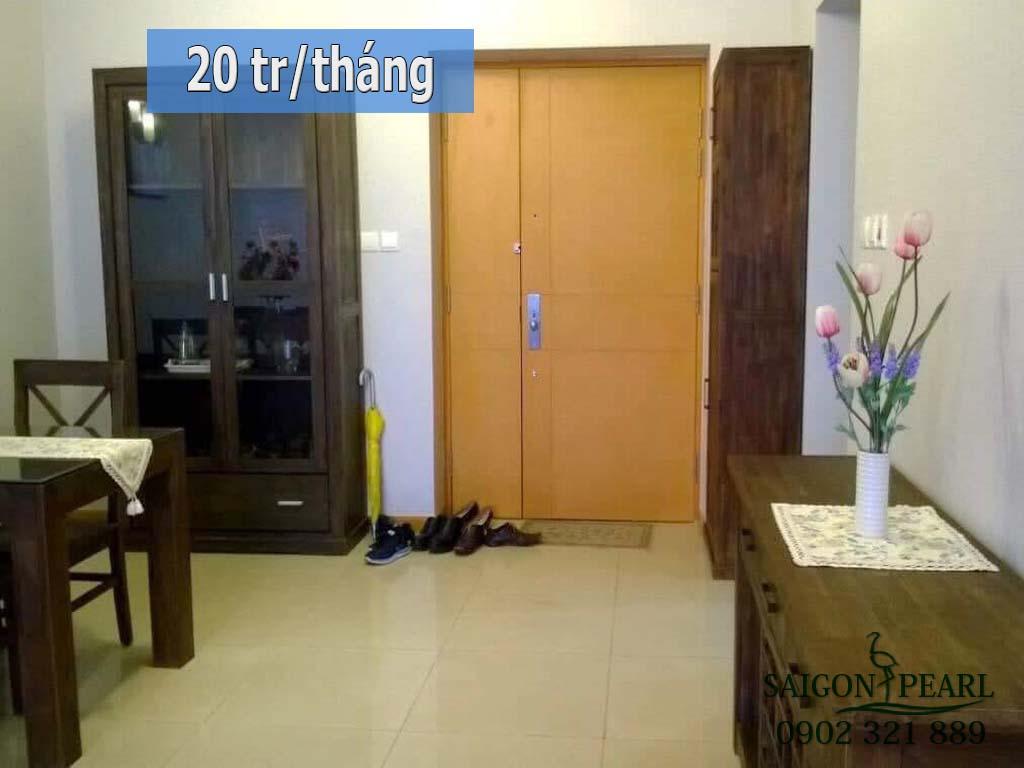 Topaz 1 Saigon Pearl cho thuê căn hộ 2 phòng ngủ