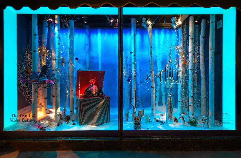 Harrods, escaparates de navidad, The Land of Make Believe, Matthew Williamson, Linley