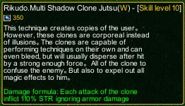 naruto castle defense 6.2 naruto Rikudo.Multi Shadow Clone Jutsu detail