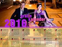 Download Kalender 2016 plus Libur Nasional Corel Vector GRATIS