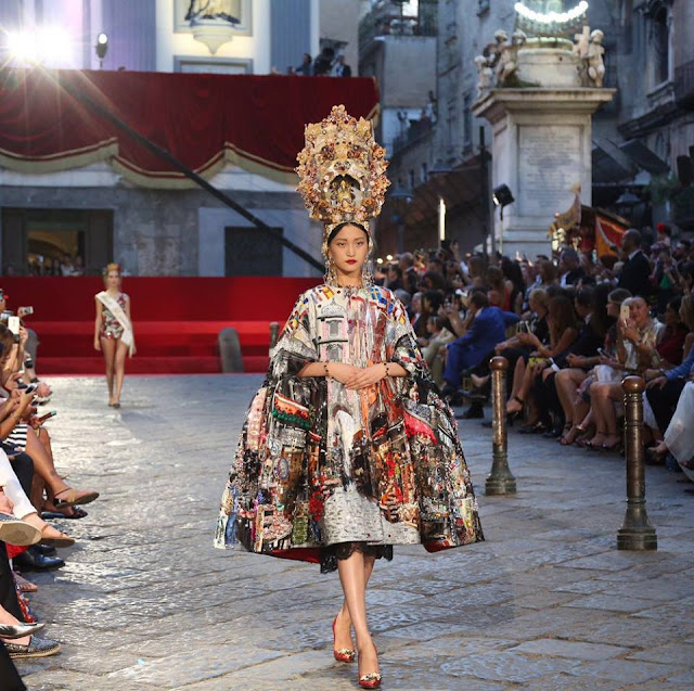 Dolce and Gabbana Alta Moda Fashion Show - Naples, July 2016