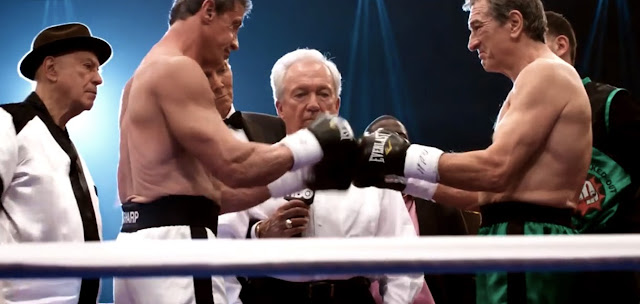 Sylvester Stallone vs Robert De Niro in Grudge Match Trailer