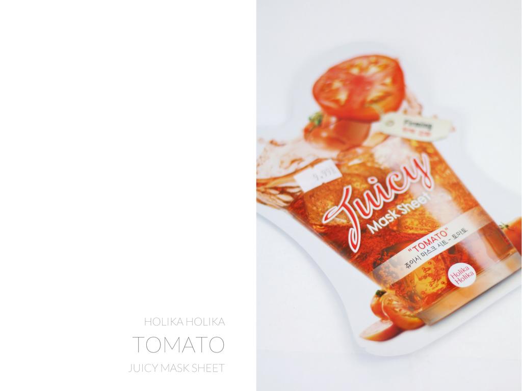holika holika maska w płacie tomato