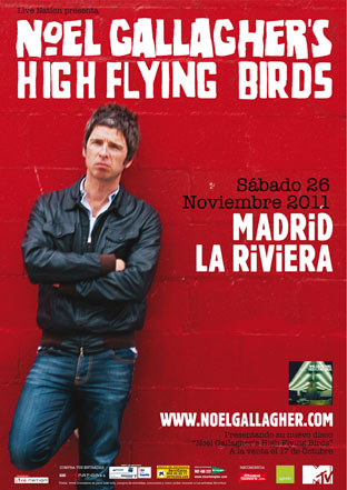 Concierto de Noel Gallagher en la Riviera