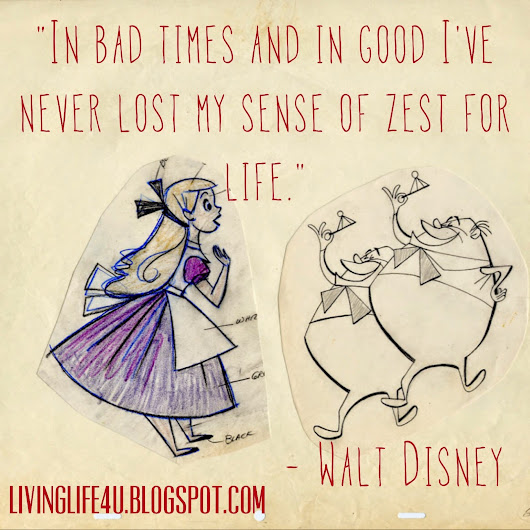 Disney's Lessons for Happiness: Day 10
