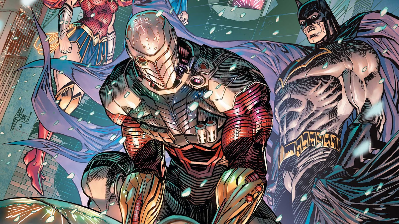 By Ken Levine Wonder Woman My Review: Weird Science DC Comics: PREVIEW: Trinity #16