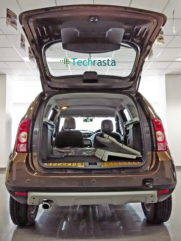 boot space renault duster