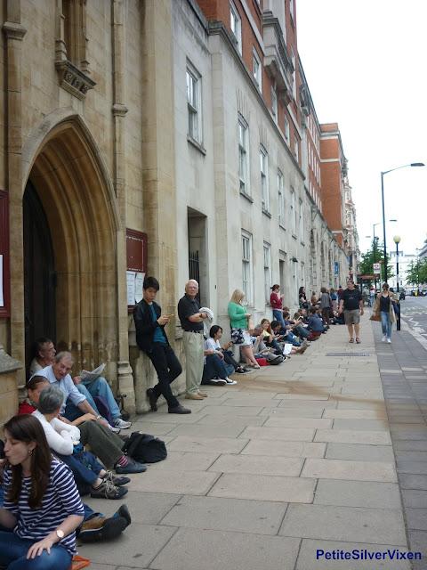 Queuing at the Proms | PetiteSilverVixen