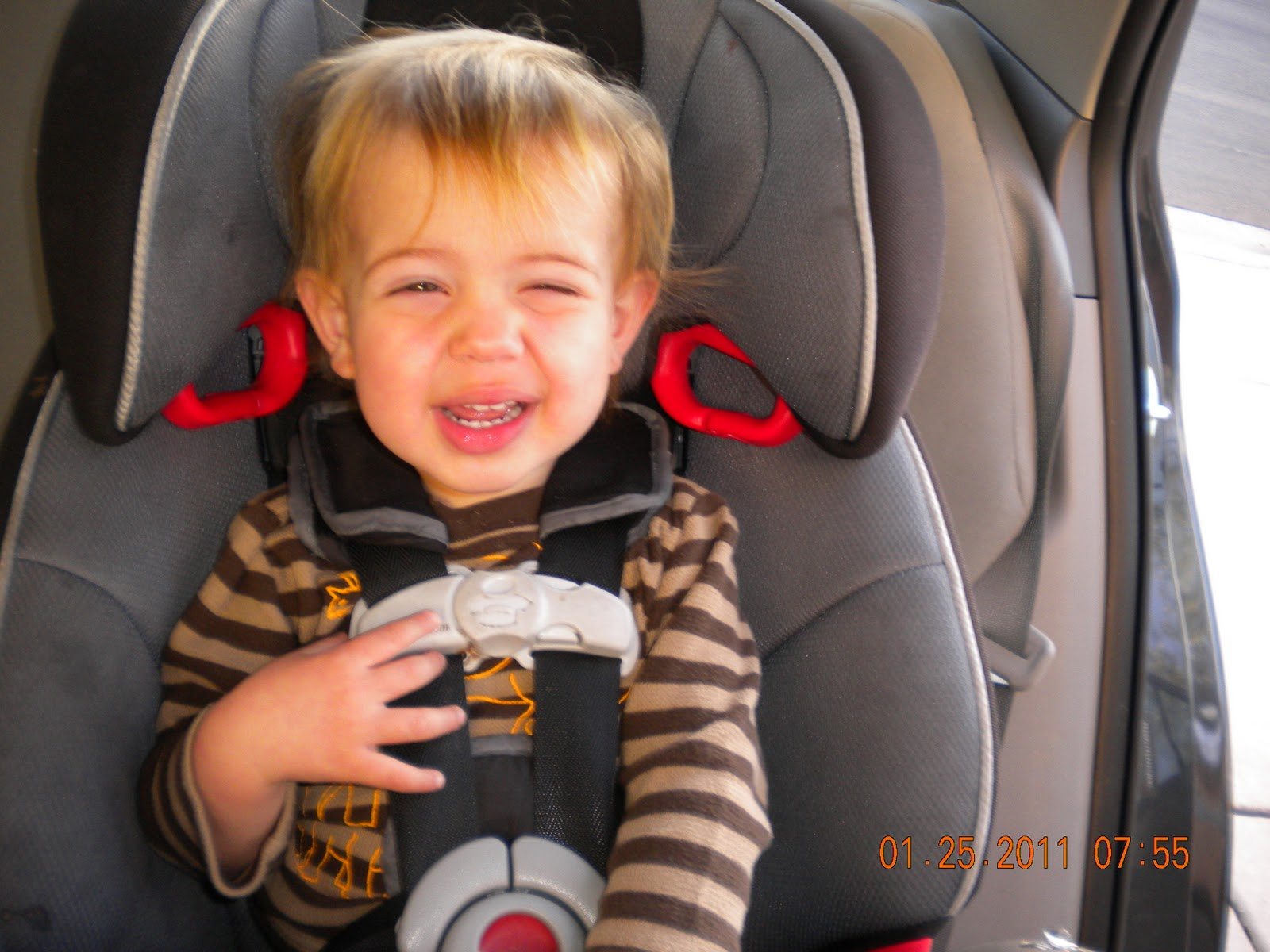 Graco Nautilus Rear Facing >> Jessica on Babies: Stealth-Adjusting a Car Seat: Right or Wrong?