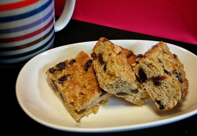 Healthy honey oat slice recipe