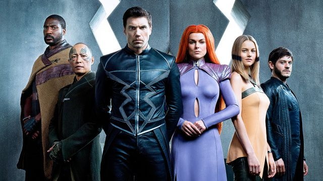 Une affiche pour la série télé de Marvel — The Inhumans