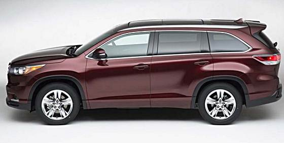 2017 Toyota Highlander Rumors