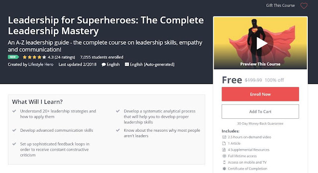 Leadership for Superheroes