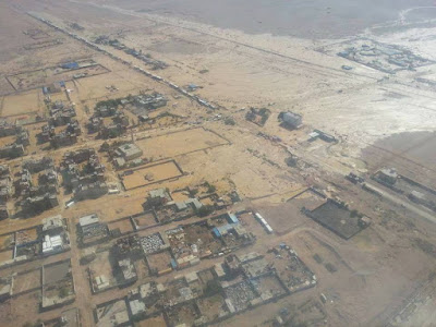 Ras Gharib from an aerial view by Mohamed Soliman