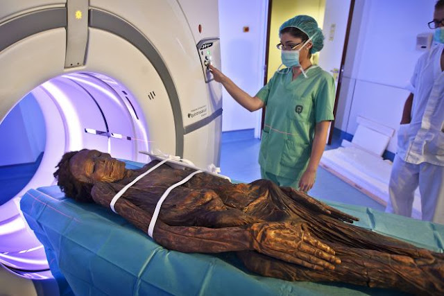 Spanish scientists produce 3D scans of four mummies