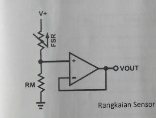 Laporan Praktikum Sonsor  - karakteristik statik sensor FSR406