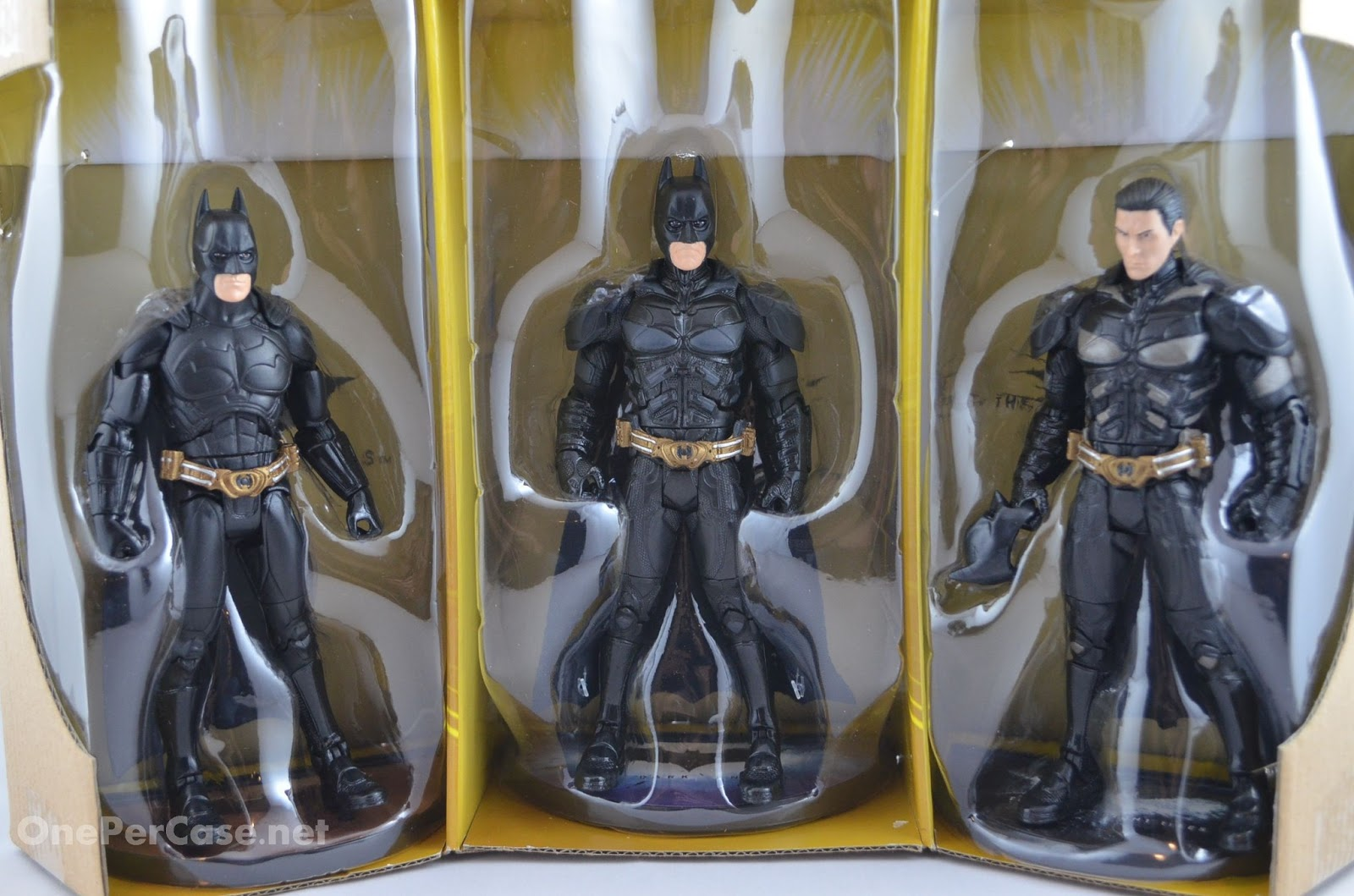 One Per Case The Dark Knight Trilogy Movie Masters Premium Box Set