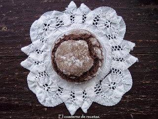 Galletas blanco y negro