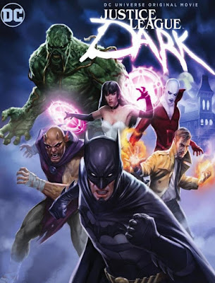 Justice League Dark 2017 DVD R1 NTSC Latino