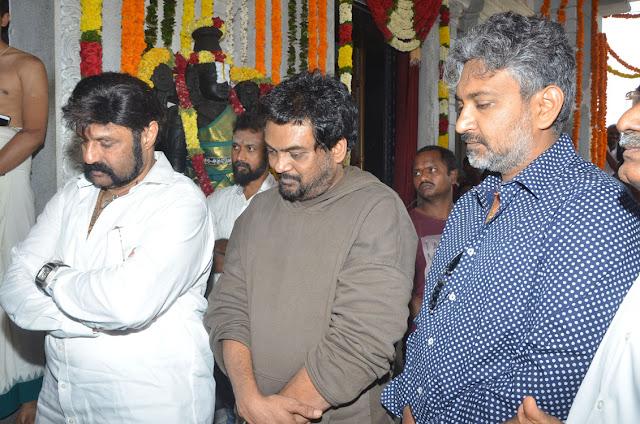 Nandamuri Balakrishna - Puri Jagannadh Movie Launch
