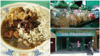 Kuliner Indonesia - Brongkos Bu Padmo