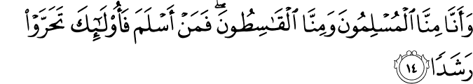 Surat Al-Jin Ayat 14