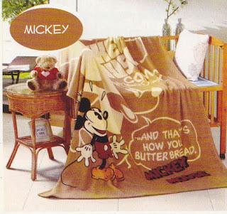 Selimut Kintakun Mickey