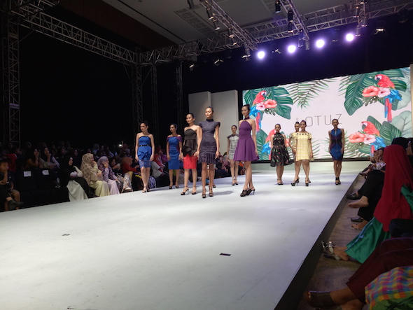 Keseruan di FEMME and Celebes Beauty Fashion Week 2017