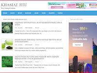 Blog Khasiat Jitu Di Jual seharga Rp.750 Ribu