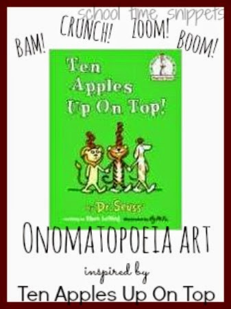 teaching Onomatopoeia with art