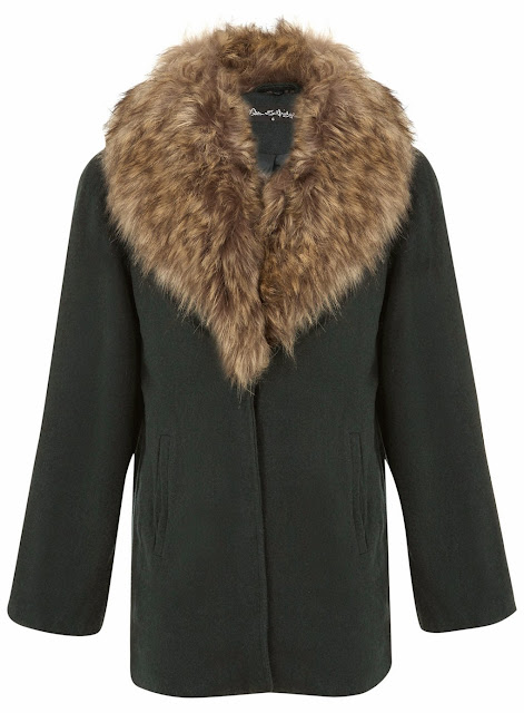 selfridge fur collar coat