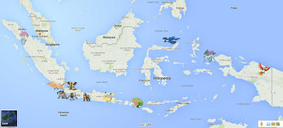 Lokasi Pokemon Legendaris Indonesia