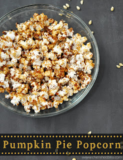 Pumpkin Pie Popcorn by Cherished Bliss