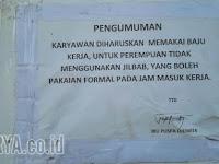 Karyawati Dilarang Berjilbab, DPRD Berang & Lakukan Sidak