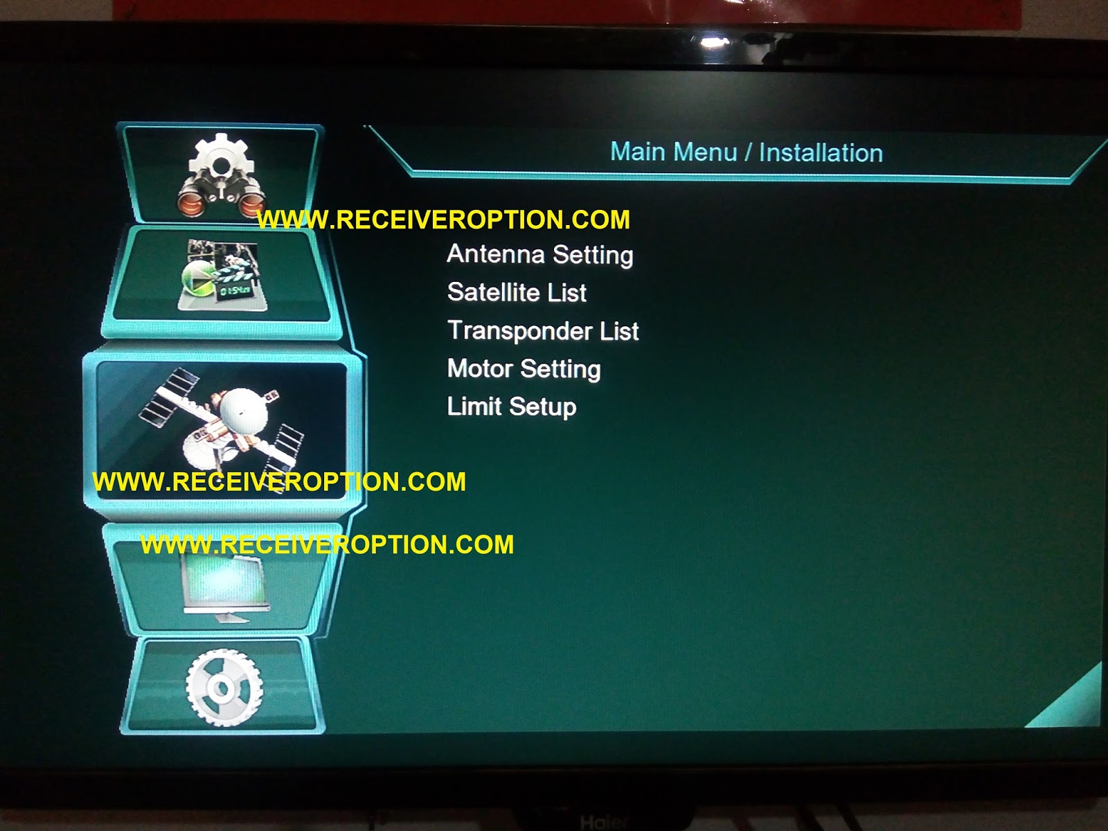 MULTI MEDIA HD RECEIVER NEW SOFTWARE - HOW TO ENTER BISS KEY