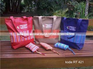 tas seminar kit batik lurik murah unik jogja tote bag goody bag rt 421