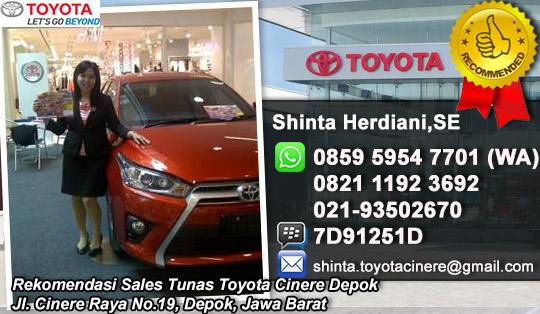 Dealer Tunas Toyota Cinere Depok