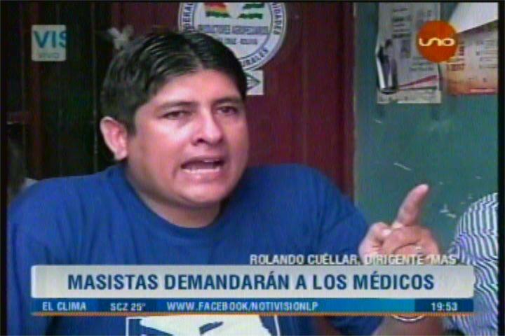 MASISTAS FUERON CORRETEADOS EN SANTA CRUZ