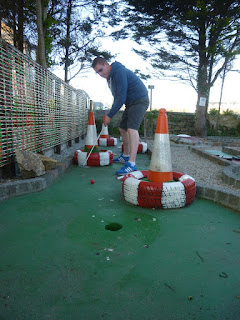 Crazy Golf course at The Alexandra Inn Penzance