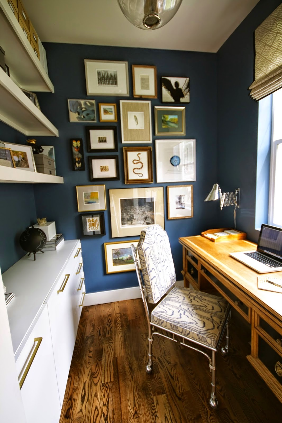 Home Office Design Ideas Basement: The Shabby Nest: Beautiful Home Office: Design Dump~