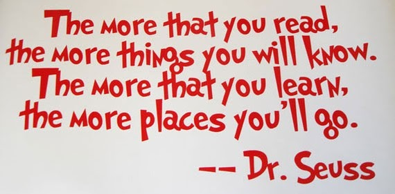 Think Like A Man Book Quotes: Tracing Echoes: Quotes I Love: Dr. Seuss Quotes