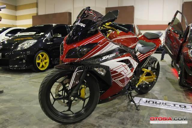 Gambar Modifikasi Motor Kawasaki Ninja 250  Gambar
