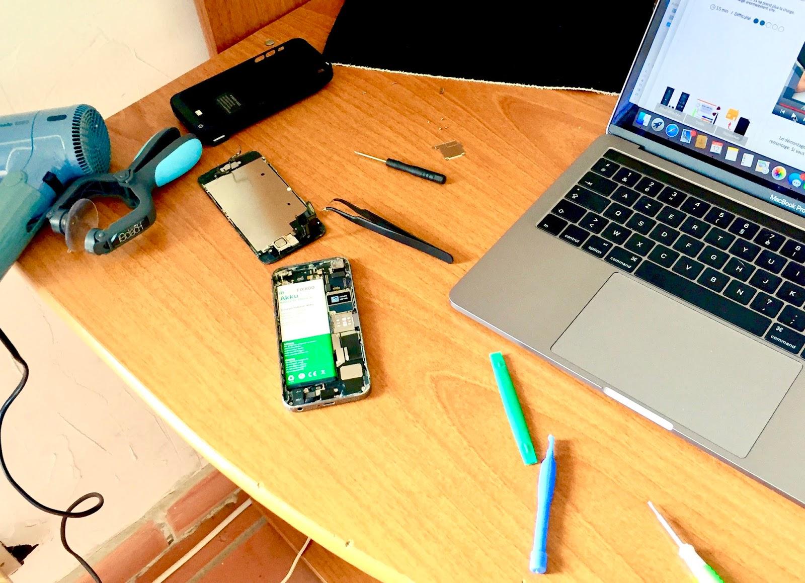 ghislain messe j 39 ai chang la batterie de mon iphone 5s. Black Bedroom Furniture Sets. Home Design Ideas
