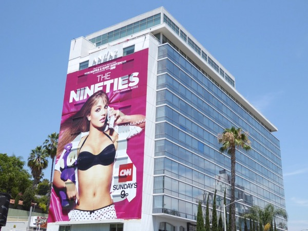 Giant Britney Spears Nineties billboard