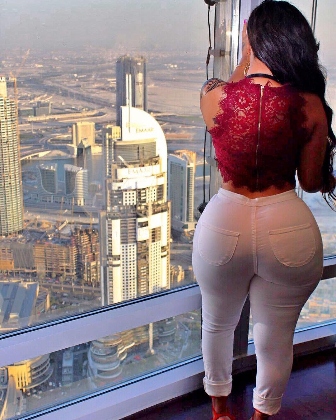 Kenya's top reality Tv star Vera Sidika is out of the country again.