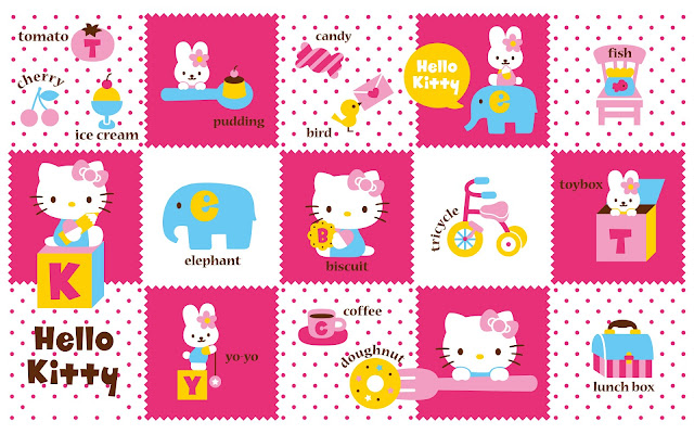 45 hình nền Hello Kitty dễ thương đẹp cho máy tính