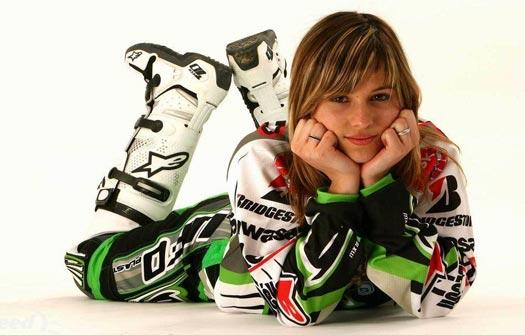 Crosser Wanita 9 Pembalap Motocross Wanita Tercantik