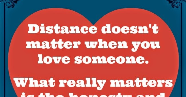 distance matters in relationship with older