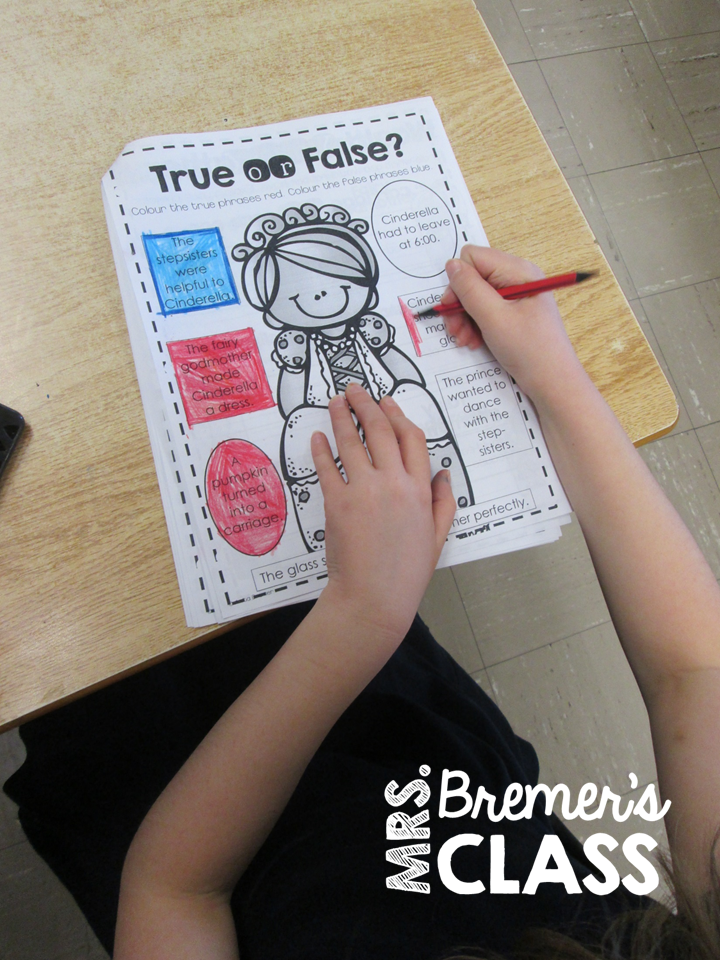 Mrs Bremer S Class Fairy Tales Unit Cinderella