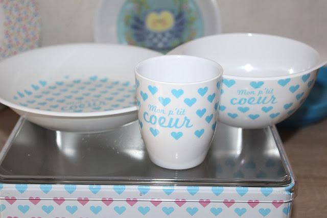 vaisselle mignonne pour les enfants